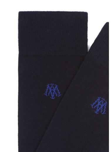 Mavi Uzun Çorap Mavi